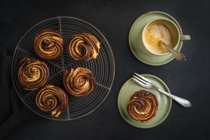 Ropogós, belül lágy vajas tészta: a croissant és muffin szerelemgyereke nagyon finom
