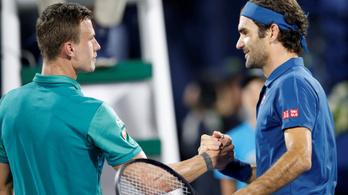 Közel a Fucsovics–Federer-meccs az AusOpenen