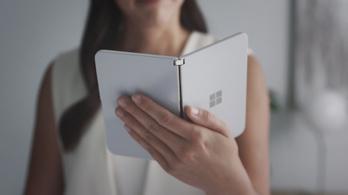 Kiderült, hogy működik a Microsoft két kijelzős Surface Duoja