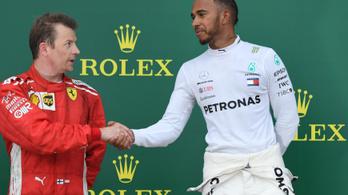 Hamilton: Fizetnem kell Kimit, hogy maradjon még