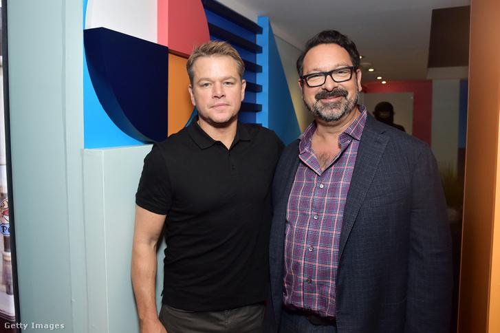 Matt Damon és James Mangold