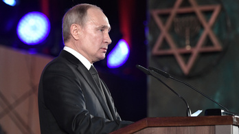 Ötven állam- és kormányfő várta Putyint a Holokauszt Világfórumon