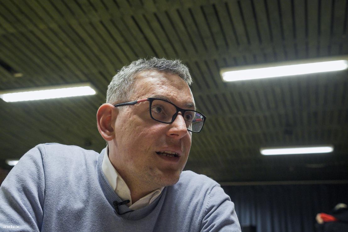 Pollreisz Balázs MSZP-s képviselő, az ellenzék jelöltje