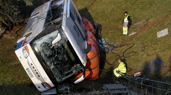 Két gyerek meghalt, többen megsérültek Németországban egy iskolabusz balesetében