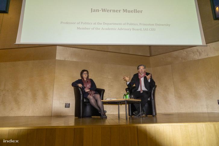Nadia Al-Baghdadi és Jan-Werner Müller