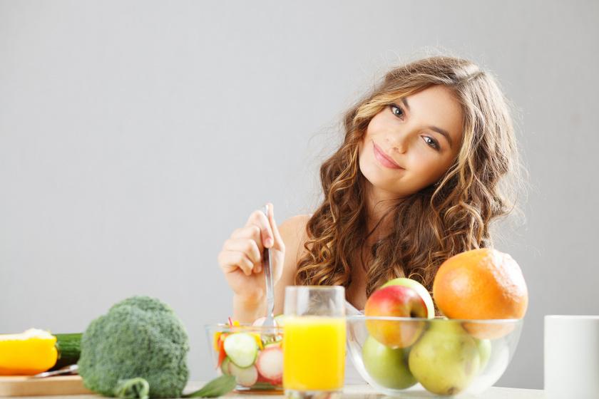 vitamindús étkezés