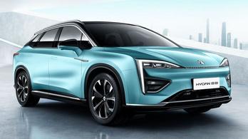 Hycan: új villanyautó Kínából