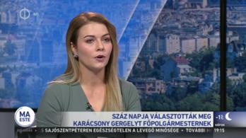 Fideszes alpolgármester felesége a köztévé Karácsony-interjújának riporternője