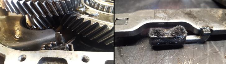 Az a kis fémdarab és a golyók képezik a fő attrakciót. A sünnek álcázott mágnes pedig az egyik villa-pár pozíciójáról informálja a vezérlőt. Már amikor nincs zavar az éterben