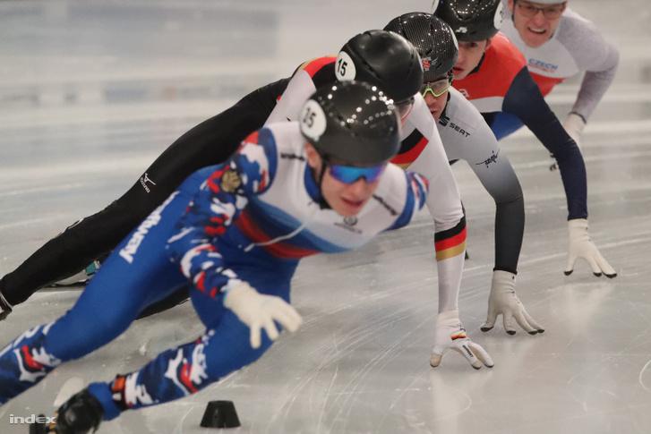 Krueger a harmadik helyen