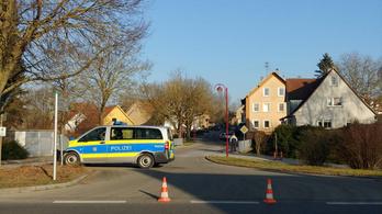Lövöldözés volt Németországban, hatan is meghalhattak