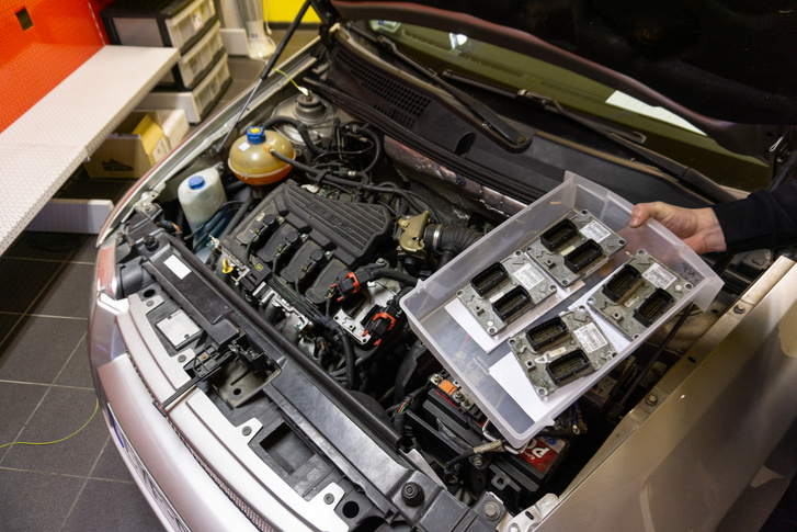 A Stilo vezérlők, amiket többek közt ezzel az autóval is javítanak.