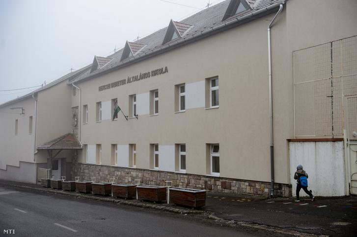 A gyöngyöspatai Nekcsei Demeter Általános Iskola 2020. január 21-én.