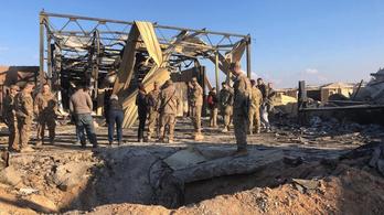Súlyos agysérülést szenvedtek az amerikai katonák az iráni rakétatámadásban