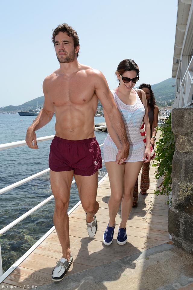 Thom Evans és Kelly Brook Olaszországban, Ischián