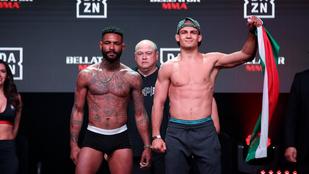 Eljött az igazság pillanata a legjobb magyar MMA-s számára