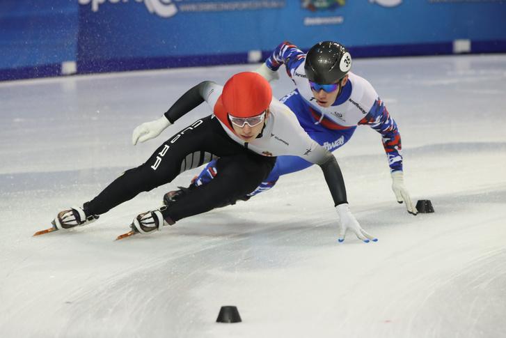 Liu Shaoang a férfi váltó versenyszámban.