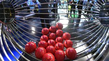 Százöt embernek lett négyese az ötös lottón