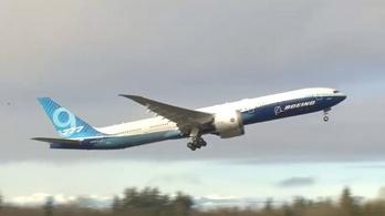 Megkezdte próbaútját a Boeing 777X