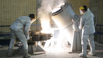 Irán képes akár atomfegyverhez szükséges dúsított uránt is előállítani