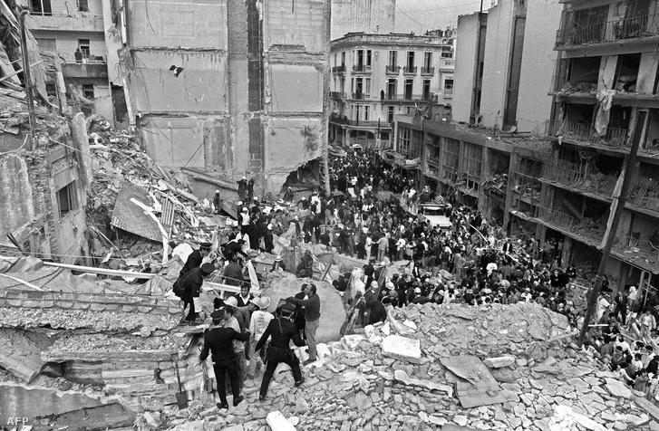 Az 1994-es Buenos Aires-i merénylet helyszíne