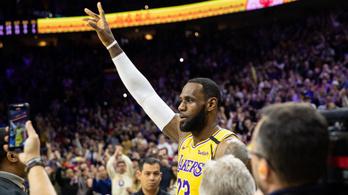 NBA-történelem: LeBron James megelőzte Kobe Bryantet