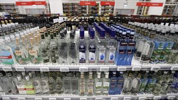 Az oroszok sokat isznak, berobbant a helyi vodkagyártás