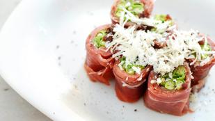 Ez a tökéletes, 3 összetevős vacsora: zöldbab fekete-erdei sonkával és pecorino sajttal