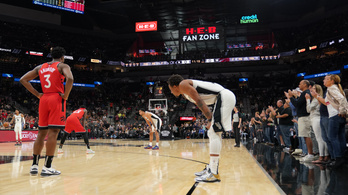 Lepörgették az időt, így emlékeztek Kobe Bryantre az NBA-ben