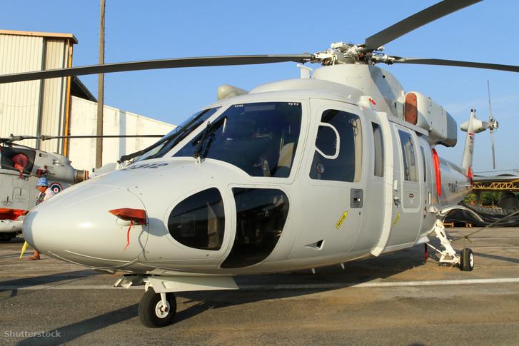 Sikorsky S76B típusú helikopter