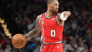 A Portland sztárja 50 pontot dobott az NBA legszomorúbb napján