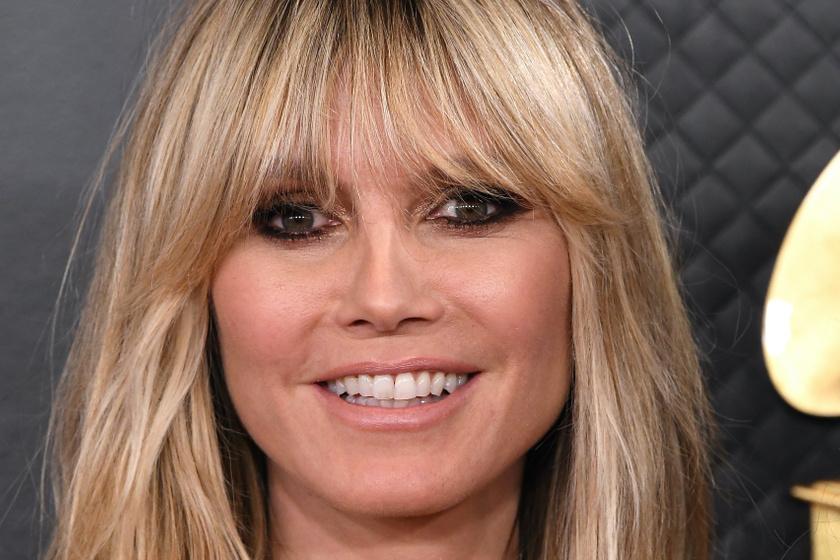 Heidi Klum szexi, áttetsző estélyit viselt - Íme, a Grammy-gála legszebb sztárjai