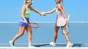 Babos Tímea negyeddöntős párosban az Australian Openen