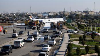 Kicsúszott a leszállópályáról egy iráni utasszállító 150 emberrel a fedélzetén