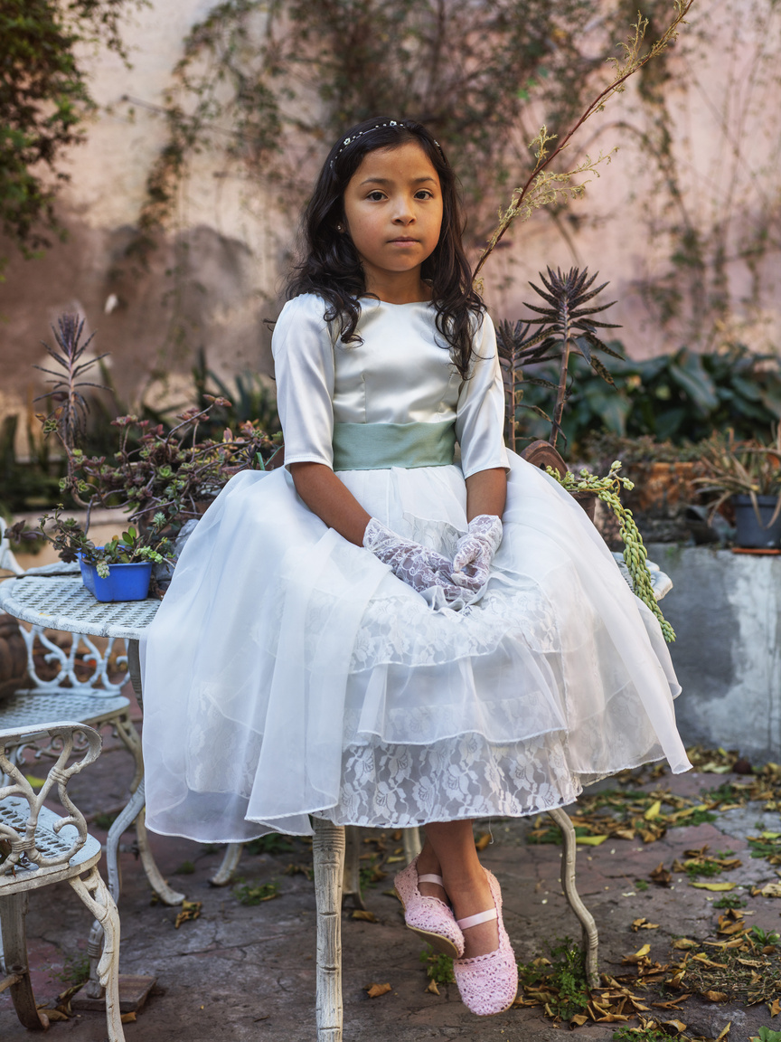 First Communion, Mexico City, 2019