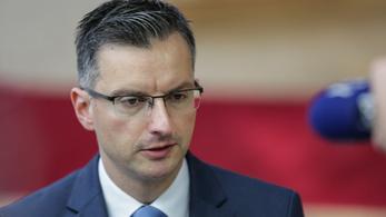Lemondott Marjan Šarec szlovén miniszterelnök