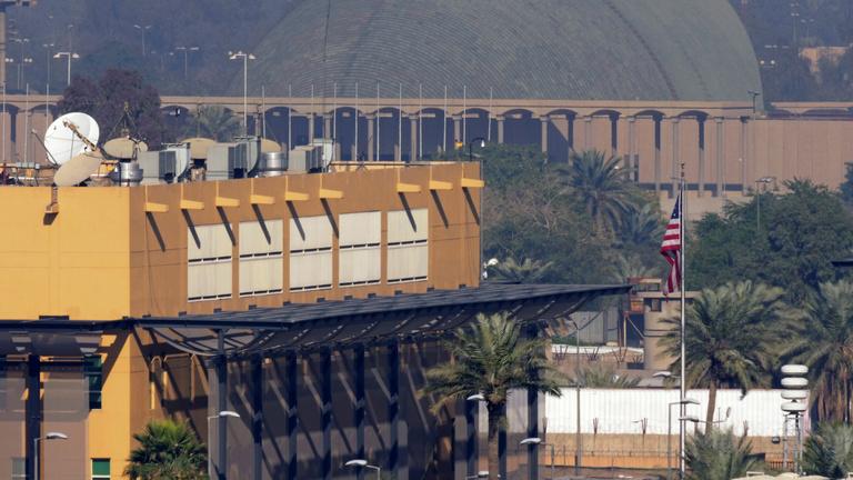 Rakétákat lőttek a bagdadi amerikai nagykövetségre