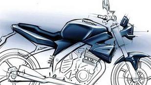 A Bajaj levegős, 250-es egyhengerese kerülhet a Triumph-okba