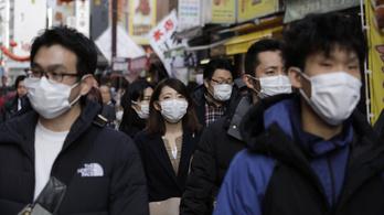 Terjed a világban a kínai koronavírus