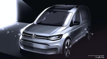 Újabb vázlatok az új VW Caddyről