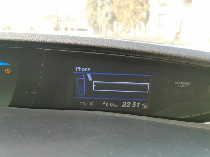 Telefon-párosítás Honda módra