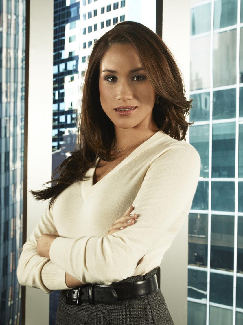 Meghan hercegné a Briliáns elmék című sorozat egyik főszereplője volt.