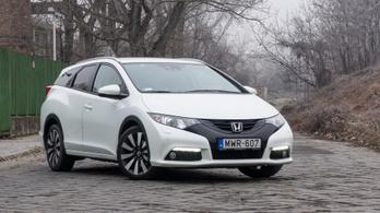 Használtteszt: Honda Civic Tourer (FK) 1,6 i-DTEC – 2014.