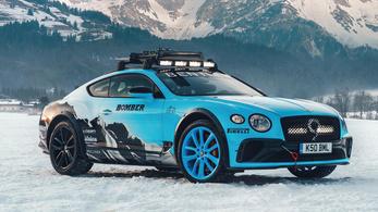 Jégre tervezték ezt az egyedi Bentley-t
