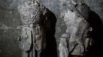 Elveszett szobrok kerültek elő a Várban