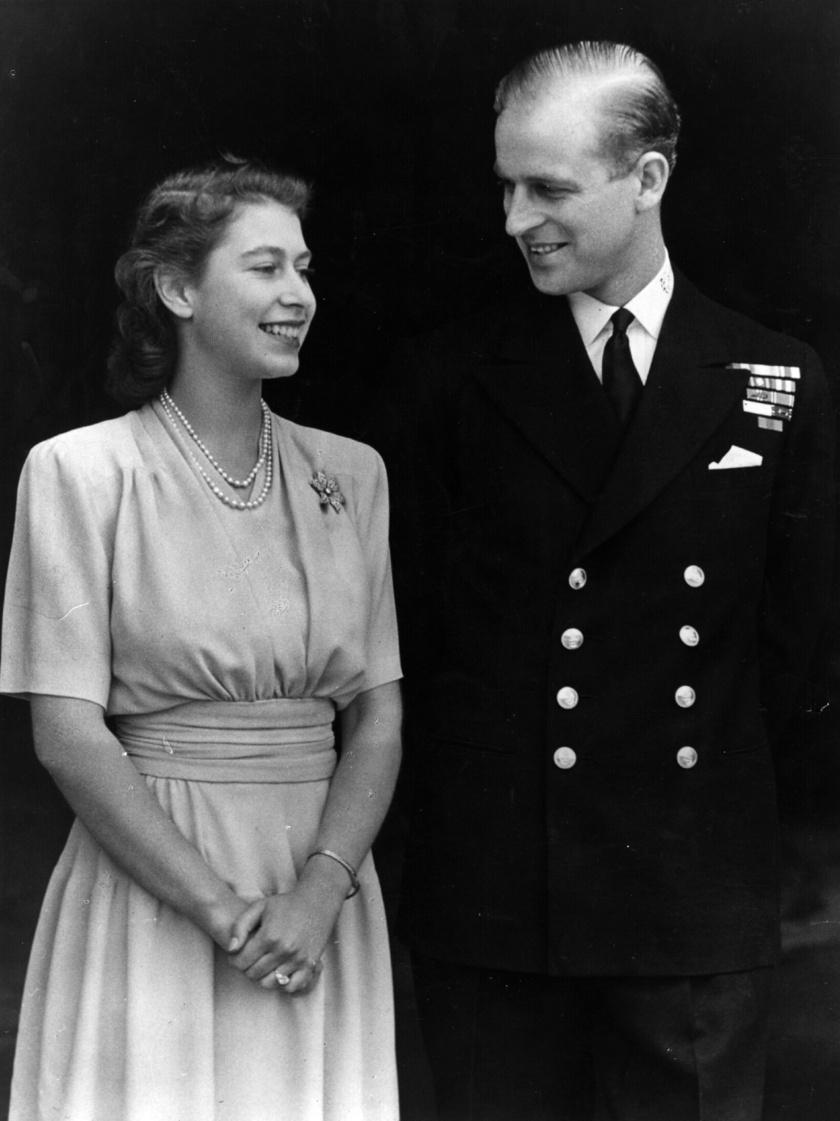 erzsébet királynő és fülöp herceg