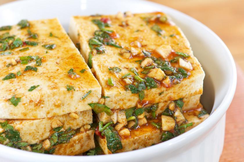 marinált tofu recept