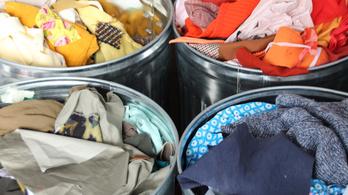 Eszméletlen mennyiségű ruhát dobnak a szemétbe az olaszok