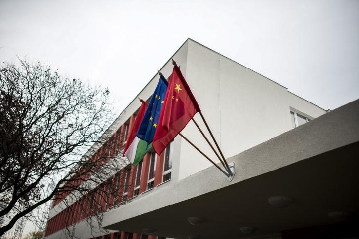 A Magyar–Kínai Két Tanítási Nyelvű Általános Iskola és Gimnázium épülete