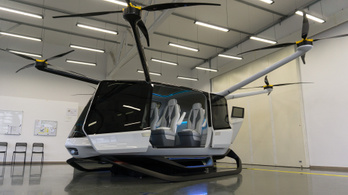 Üzemanyagcellás személyszállító drón készül Magyarországon